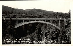 Cedar Canyon Bridge, Higway 60 between GLobe and Showlow