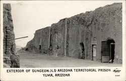 Exterior of Dungeon, Old Arizona Territorial Prison