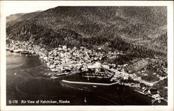 Air view of Ketchikan
