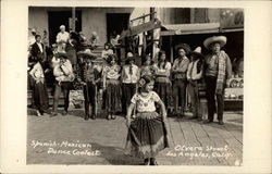 Spanish-Mexican Dance Contest, Olvera Street