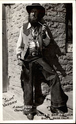 """Slim"" Vaughn, A Ghost Town Character, Knott's Berry Farm"