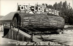 "Famous ""One-Log"" House"