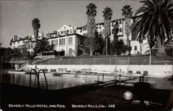 Beverly Hills Hotel and Pool