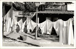 Old Clothes Line, Pony Express Museum