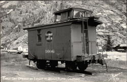 Early Day Caboose on Exhibit