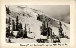 Chairlift on Continental Divide