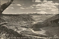 Panorama of Colorado River and Roaring Fork River Valleys