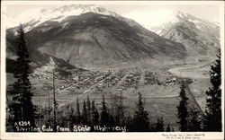 Silverton Colo. from State Highway Postcard