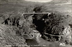 Sapinero Bridge over Lake Fork of the Gunnison