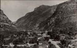 Looking north out of Ouray