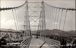 Suspension Bridge - Royal Gorge -1053 Ft. over the stream