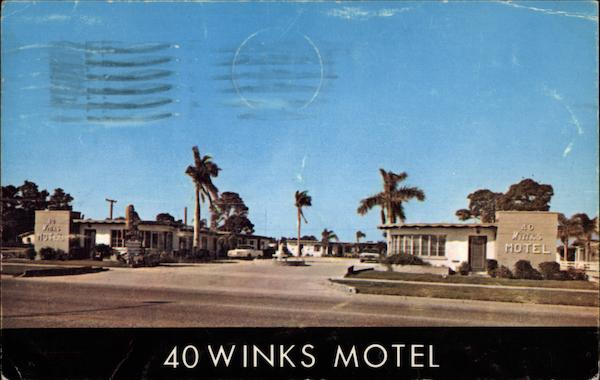 40 Winks Motel Venice Florida