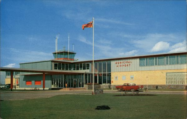 Front Entrance, Municipal Air Terminal Calgary Canada
