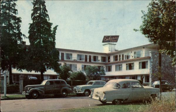 Embassy Court Motel Victoria Canada British Columbia