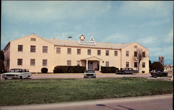 Post Headquarters Building, 111 Corps and Fort Hood Texas