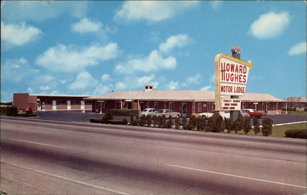 Howard Hughes Motor Lodge Greenfield In