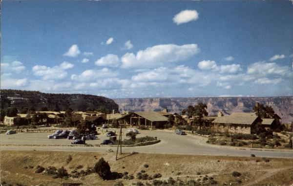 Bright Angel Lodge on the South Rim Arizona