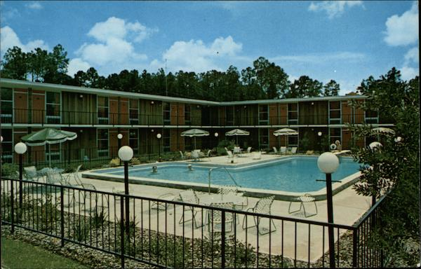 Davis Bros. Cafeterias & Motor Lodges Ormond Beach Florida