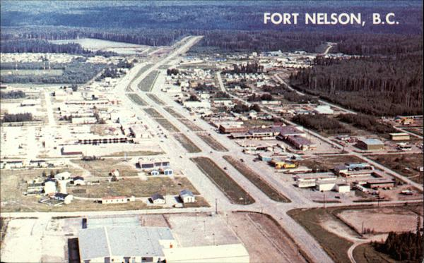 Fort Nelson on the Alaska Highway Canada British Columbia
