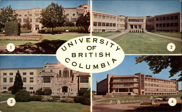 The University of British Columbia Vancouver Canada