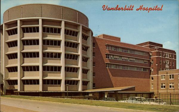 The Vanderbilt University School of Medicine and Hospital Nashville Tennessee