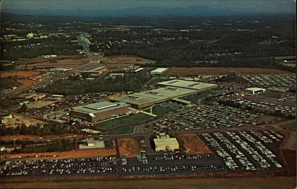 Aerial View of Textile Hall on Exposition Avenue Greenville South Carolina