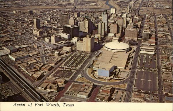 Aerial View Of Fort Worth