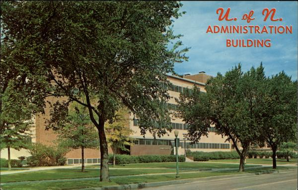 Administration Building, University of Nebraska Lincoln