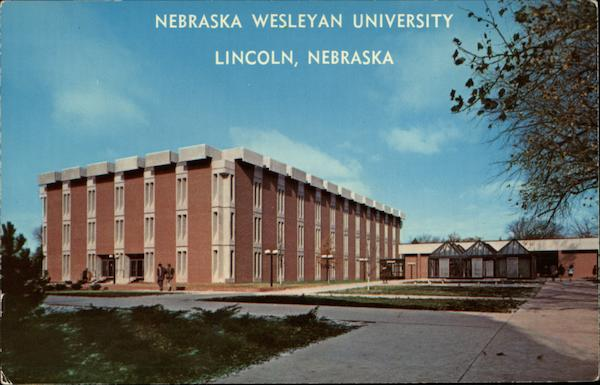 Olin Hall Of Science Nebraska Wesleyan University Lincoln Ne
