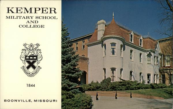 Kemper Military School and College Boonville Missouri