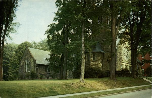 Ford Memorial Chapel Allegheny College Meadville