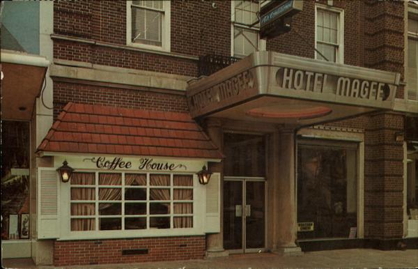 Hotel Magee & Coffee House Bloomsburg Pennsylvania