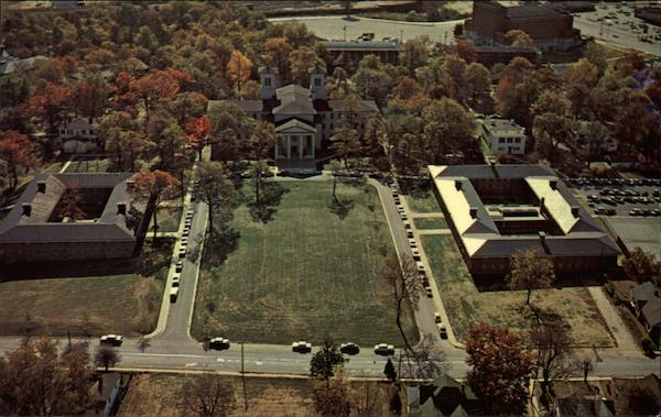 Aerial View Of Wofford College Spartanburg SC