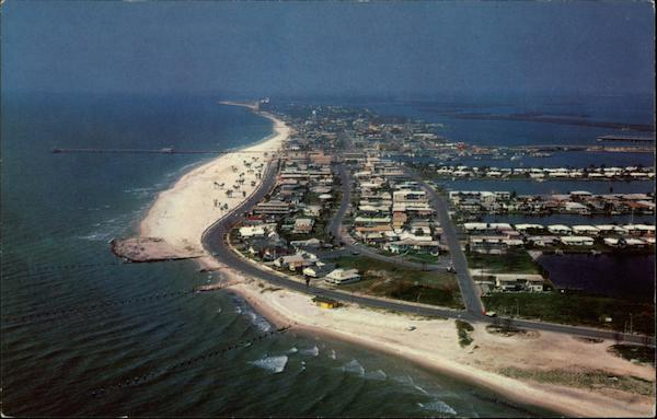 Aerial View of Clearwater Beach Florida