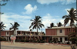 The Islander Apt. - Motel Postcard