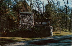 Camp Entrance, Camp Kern, Dayton YMCA