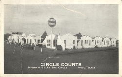 Circle Courts, Highway 81 At The Circle