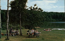 Picnic Spot on Lake Storman, International Peace Garden