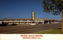 Peace Villa Motel Postcard