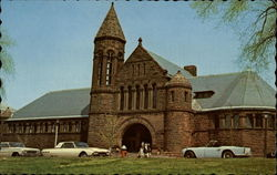 Billings Center - University of Vermont Postcard