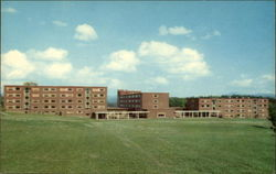 Mason, Simpson and Hamilton Halls, Redstone Campus Postcard