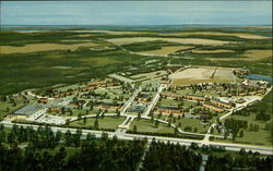 Aerial View of Bob Jones University Postcard