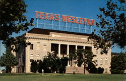 Texas Wesleyan College Postcard
