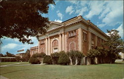 Fine Arts Auditorium, Texas Wesleyan College, East Rosedale Postcard