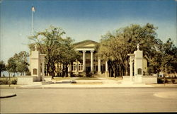 Administration Building, Texas Christian University Postcard