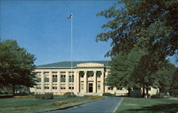 Agricultural Engineering Hall Postcard