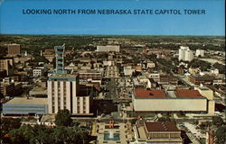 Looking North from Nebraska State Capitol Tower