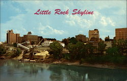 Little Rock Skyline and Arkansas River