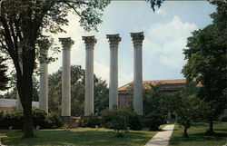 The Columns, Westminster College Campus Postcard