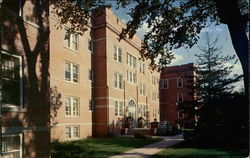 Residence Hall on Campus of Northwest Missouri State College